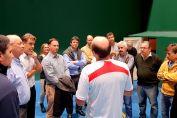 El senador Enrico fortalece la práctica de la Pelota Paleta en la región