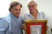 Reconocimiento a la trayectoria sindical del ceramista Domingo Moryera