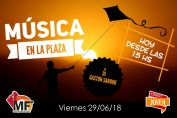 """Comienza la edición 2018 de """"MúsicaenlaPlaza"""""""