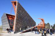 En un nuevo aniversario del Grito de Alcorta, Lifschitz inauguró un innovador monumento histórico