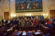 Jóvenes de la región fueron Diputados por un Día