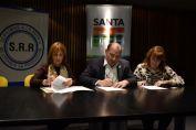 La provincia firmó un convenio con el Senasa para intensificar acciones en sanidad animal, prevención de delitos rurales y calidad agroalimentaria