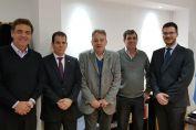 Pieroni y Real se reunieron con el juez federal Cuello Murúa