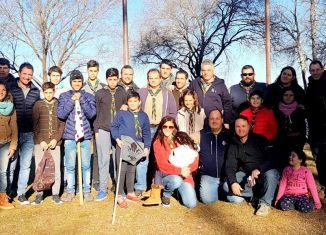 Enrico y Pellegrini colaboraron con los Boys Scouts del barrio Güemes