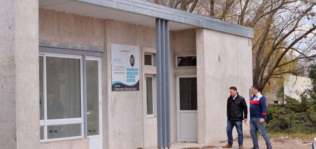 Enrico comunicó que la nueva comisaría de María Teresa se encuentra en su última etapa de construcción
