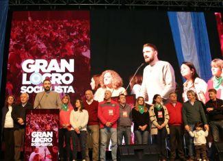 """Locro Socialista: """"La esperanza de un cambio socialdemócrata en nuestro país nace en Rosario y en Santa Fe"""", dijo Enrique Estévez"""