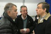 El diputado Real acompañó al ministro Garibay en las localidades de  Melincué y Firmat