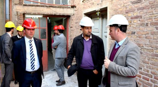 Enrico impulsa obra para recuperar el edificio del viejo hospital y darle un uso público que beneficie a los ciudadanos de la región