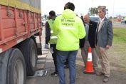 Controlan el exceso de carga en los camiones que circulan por las rutas santafesinas