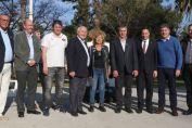 Lifschitz entregó en Chovet, aportes a 13 clubes de la región