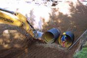 Avanzan las obras del Plan Integral de Desagües Hídricos