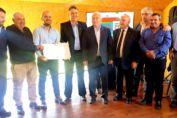 Lifschitz y Enrico en solo 35 días impulsaron la construcción de tres nuevas plantas de tratamiento de residuos para la región