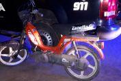 Un hombre con pedido de captura fue detenido por circular en una moto que había sido robada horas antes