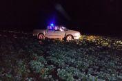 Maggiolo: hallaron una camioneta que había sido robada horas antes