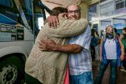 Se reencontraron dos hermanos que fueron separados hace 60 años