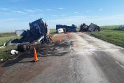 Accidente fatal sobre Ruta 33 en jurisdicción de San Eduardo
