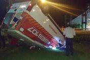 Venado Tuerto: accidente sobre Ruta Nacional N°8