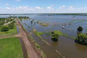 Ascienden a 109 las personas evacuadas por la emergencia hídrica en el norte provincial