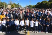 Se inauguró el nuevo acceso pavimentado a la localidad de San Eduardo