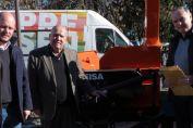 La provincia entregó maquinaria para la gestión de residuos en el departamento General López