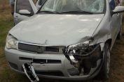 Teodelina: accidente sobre Ruta 94