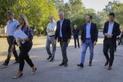 Autoridades de Nación recorrieron el predio donde se emplazará el nuevo hospital de emergencia