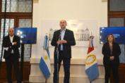 Perotti brindó detalles de las acciones sanitarias que encara la provincia en relación a la situación epidemiológica