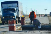 Enrico sigue impulsando la obra de reparación de la Ruta 94