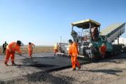 Realizan obras en el corredor productivo autopista Santa Fe - Rosario