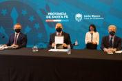Perotti anunció junto al ministro Kulfas la creación de un fondo de garantías por $500 millones para Pymes santafesinas