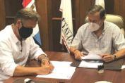 Convenio entre Municipalidad y el IUNIR para la llegada de dos nuevas carreras universitarias del aŕea de la salud
