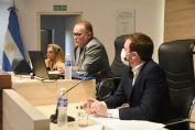 El ministro de Seguridad escuchó críticas, consultas y propuestas de los concejales rosarinos