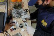 Allanamientos y detenidos por infracción a la ley de estupefacientes