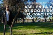 """Ciclo Municipal """"Cultura Viva"""": Abel en la voz de Roque Ríos"""