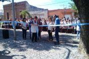 La Escuela 9 de Julio inauguró una salida de emergencia sobre calle Santa Fe