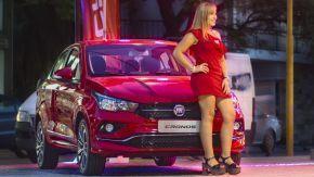 """Mendez Automotores SA presentó el sedán """"Cronos"""", un nuevo producto de la marca Fiat"""